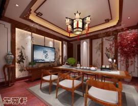中式复古豪宅设计装修