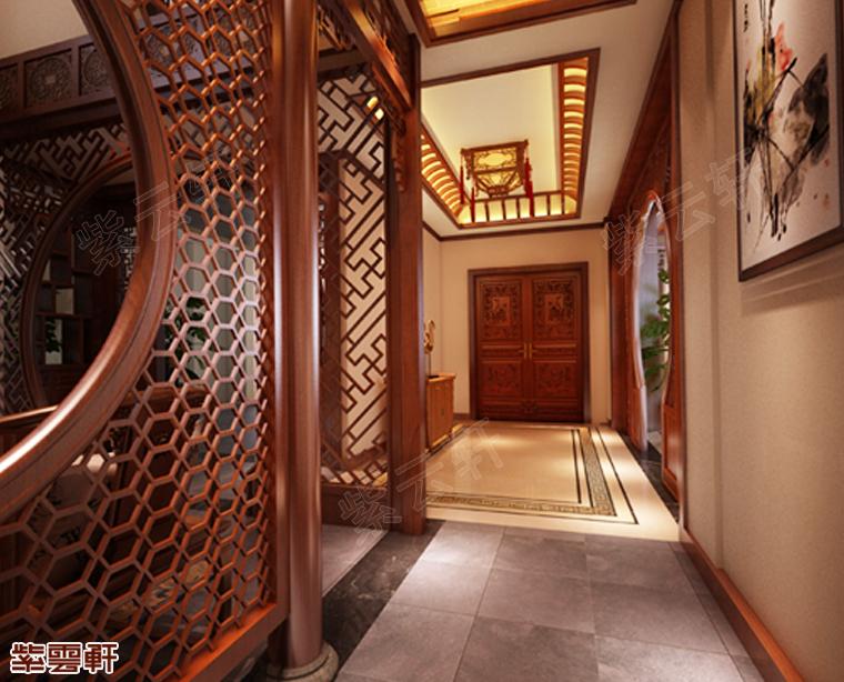紫云轩中式传统古典仿古效果图