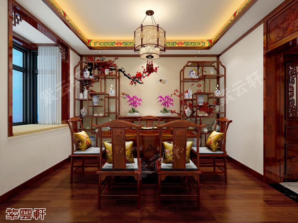 中式紫云轩仿古豪宅设计