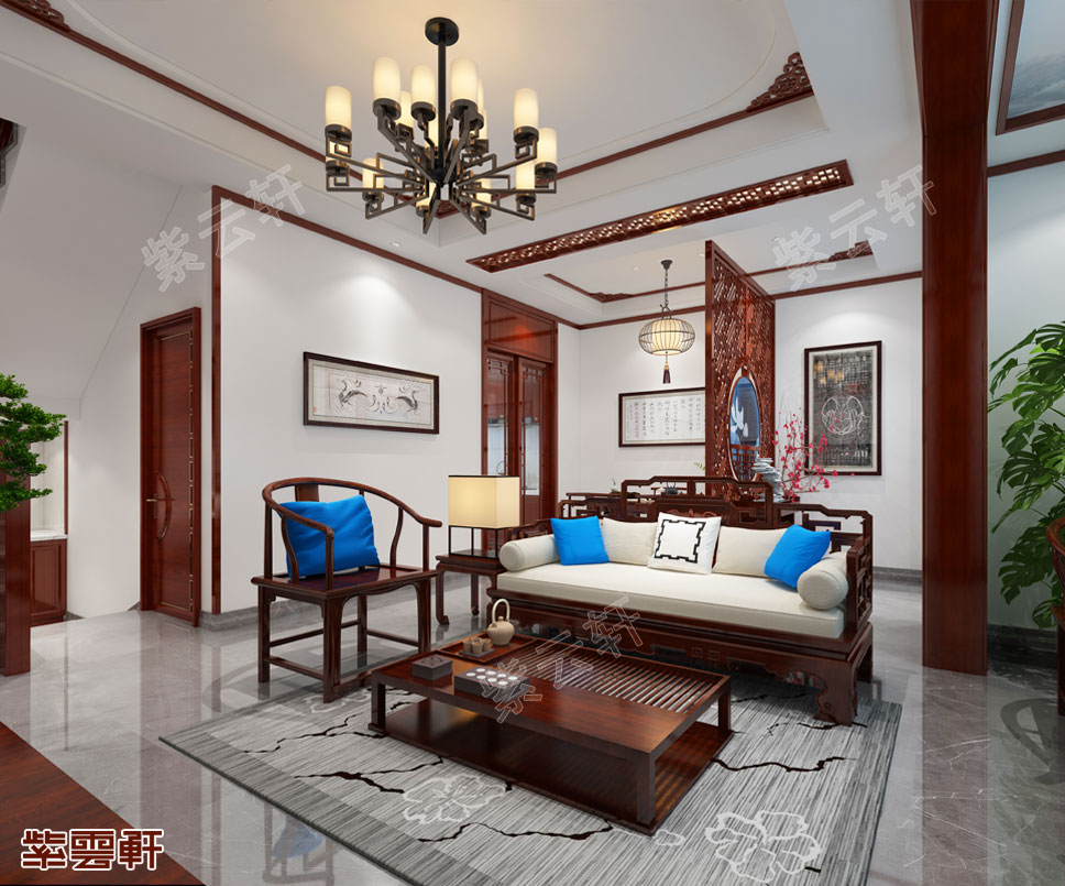 中式传统仿古大宅装修设计