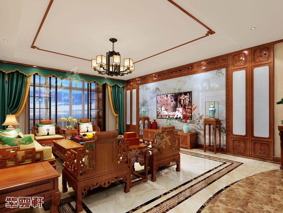 中式传统古典豪宅