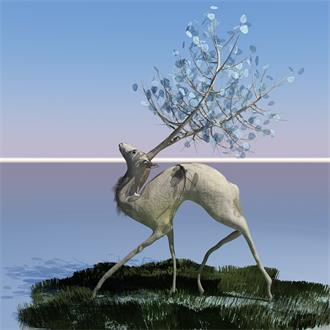 动物雕塑景观小品设计