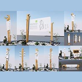生态花鸟植物园导视系统设计概念方案