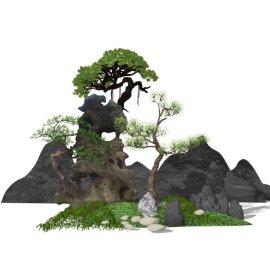中式园艺景观