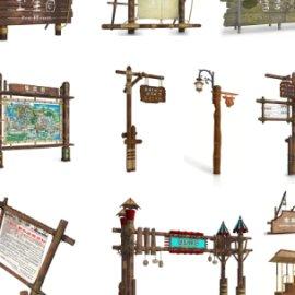 旅游景区主题公园标识设计