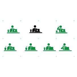 日风标识元素-商业商务系列
