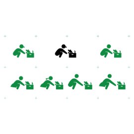 日风标识元素-生活状态系列