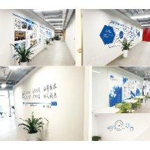 企业形象墙导视设计