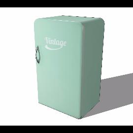 80年代复古老式小型电冰箱模型