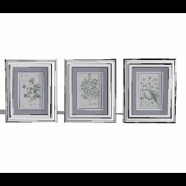三幅植物装饰画su模型