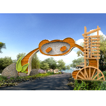 生态园植物园大门