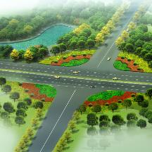 景观规划设计效果图