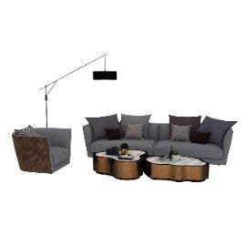 现代时尚沙发组合