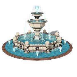 景观喷泉小品