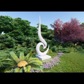 创意大理石景观雕塑小品