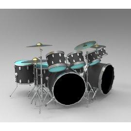 乐器架子鼓
