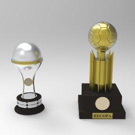 足球,篮球奖杯