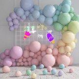节气气球加发光造型点缀