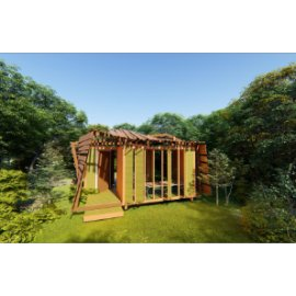 简约木屋设计
