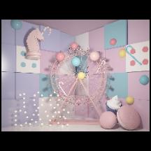 摩天轮气球装饰