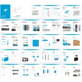 传媒公司全套VI视觉形象设计