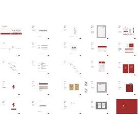 文化传播企业全套VI视觉形象设计