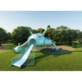 公共艺术——科幻儿童娱乐滑梯su文件
