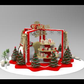 圣诞节美陈装饰