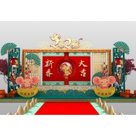 新年节日美陈