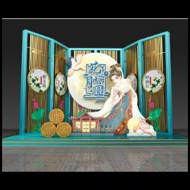 中秋节节日美陈