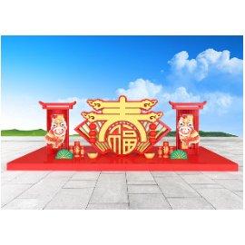 春节美陈雕塑