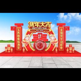 春节美陈DP