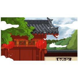 古风 中国风  海报   中国风背景海报