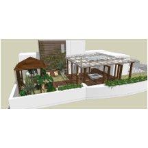 庭院景观新中式