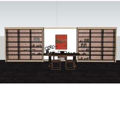中式日式茶室书房桌椅