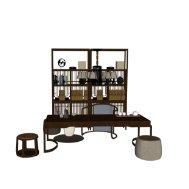 茶室书房桌椅