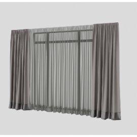 窗帘窗户模型