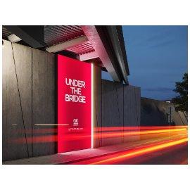 街头LED灯箱广告地铁商场公交车站广告牌VI贴图展示样机