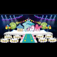 生日宴舞台效果