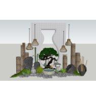 禅意庭院景观雕塑小品