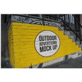 街头海报艺术宣传海报样机