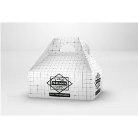 外卖食品糕点纸盒包装vi样机展示合集智能贴图PSD源文件素