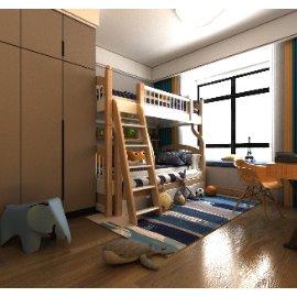 儿童卧室书房