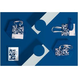 品牌产品科技展台效果展示瓷器耳机环保袋样机贴图PS设计素材