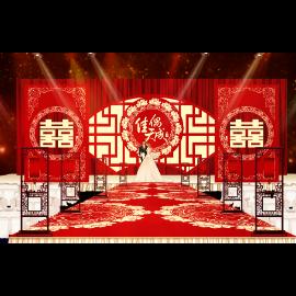 中式婚庆场景布置