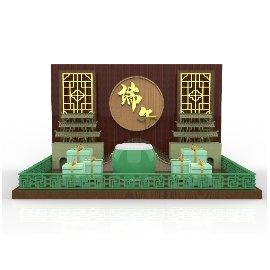 传统中国节日端午节C4D美陈