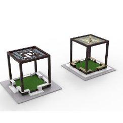 新中式景观凉亭