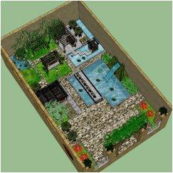 中式小庭院