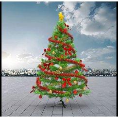 圣诞树美陈