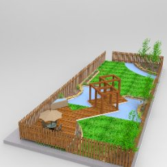 户外庭院绿化